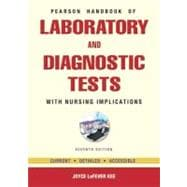 Pearson's Handbook of Laboratory and Diagnostic Tests : With Nursing Implications