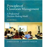 Principles of Classroom Management A Professional Decision-Making Model