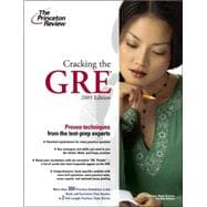 Cracking the GRE, 2009 Edition