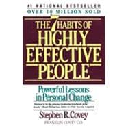 Seven Habits Of Highly Effective People; Powerful Lessons in Personal Change