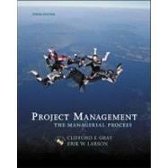 Projedct Mgt: The Managerial Process W/Student CD & Microsoft Project CD