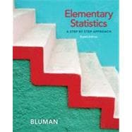 Microsoft Excel Manual for Elementary Statistics : A Step-by-Step Approach