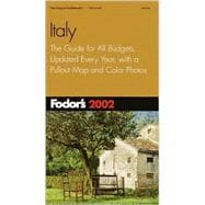 Italy 2002 : The Guide for All Budgets, Updated Every Year, with a Pullout Map and Color Photos