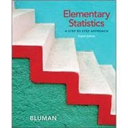 Student Solutions Manual for Elementary Statistics : A Step by Step Approach