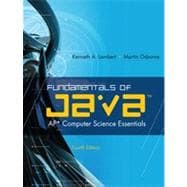 Fundamentals of Java�: AP� Computer Science Essentials, 4th Edition