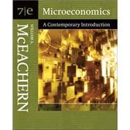 Microeconomics A Contemporary Introduction (with InfoTrac)