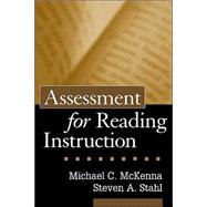 Assessment for Reading Instruction