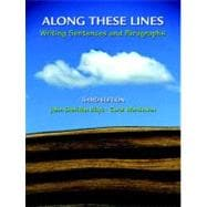 Along These Lines : Writing Sentences and Paragraphs (with MyWritingLab Student Access Code Card)
