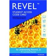 REVEL for Understanding Research -- Access Card