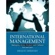 International Management : Managing Across Borders and Cultures, Text and Cases