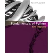 Fundamentals of Python: First Programs, 1st Edition