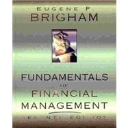 FUNDAMENTALS OF FINANCIAL MANAGEMENT 7E