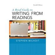 Brief Guide to Writing from Readings, A,  Plus MyWritingLab with Pearson eText -- Access Card Package