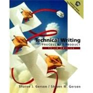 Technical Writing : Process and Product