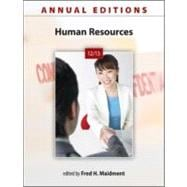 Annual Editions: Human Resources 12/13
