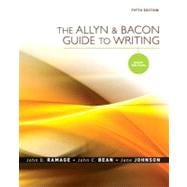 Allyn & Bacon Guide to Writing, The: Brief Edition