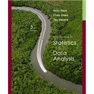 Introduction to Statistics and Data Analysis (with CengageNOW Printed Access Card)