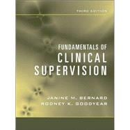 Fundamentals of Clinical Supervision