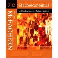 Macroeconomics A Contemporary Introduction (with InfoTrac)