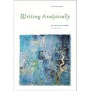 Writing Analytically 3E