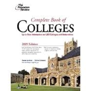 Complete Book of Colleges, 2009 Edition