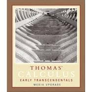 Thomas' Calculus, Early Transcendentals, Media Upgrade, Part One