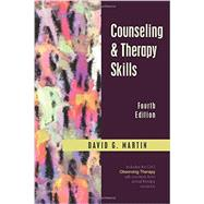 Counseling & Therapy Skills