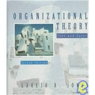 Organizational Theory : Text and Cases
