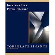 Corporate Finance & MyFinanceLab Student Access Code Card