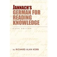 Jannach's German for Reading Knowledge, 6th Edition