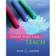 Cengage Advantage Books: Those Who Can, Teach