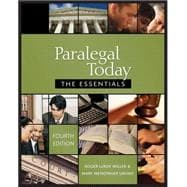 Paralegal Today The Essentials  & Bankruptcy Supplement Package
