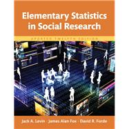 REVEL for Elementary Statistics in Social Research Updated -- Access Card