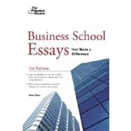 Business School Essays that Made a Difference, 3rd Edition
