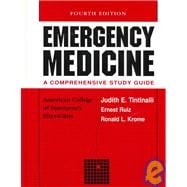 Emergency Medicine: A Comprehensive Study Guide/ College of Emergency Physicians