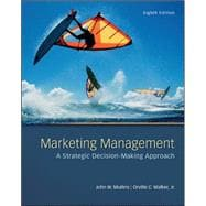 Marketing Management : A Strategic Decision-Making Approach
