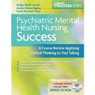Psychiatric Mental Health Nursing Success (Book with CD-ROM)