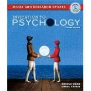 Invitation to Psychology, Media and Research Update