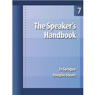 The Speaker's Handbook With Infotrac (Book with CD-ROM)