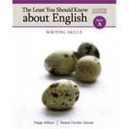 The Least You Should Know about English: Writing Skills, Form A, 11th Edition