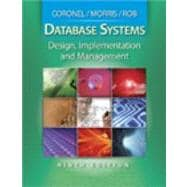 Database Systems Design, Implementation and Management (Book Only)