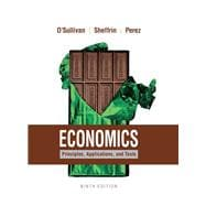 Economics Principles, Applications, and Tools