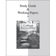 Study Guide & Working Papers Ch 1-14 to accompany College Accounting
