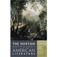 Norton Anthology of American Literature Vol. 1
