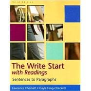 The Write Start: Sentences to Paragraphs, with Readings