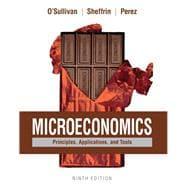 Microeconomics Principles, Applications, and Tools