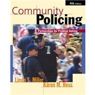 Community Policing: Partnerships for Problem Solving with Infotrac