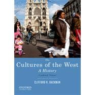 The Cultures of the West, Combined Volume A History
