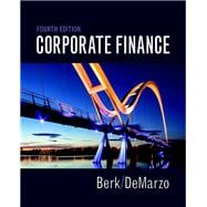 Corporate Finance Plus MyFinanceLab with Pearson eText -- Access Card Package