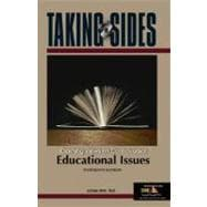 Taking Sides : Clashing Views on Controversial Educational Issues